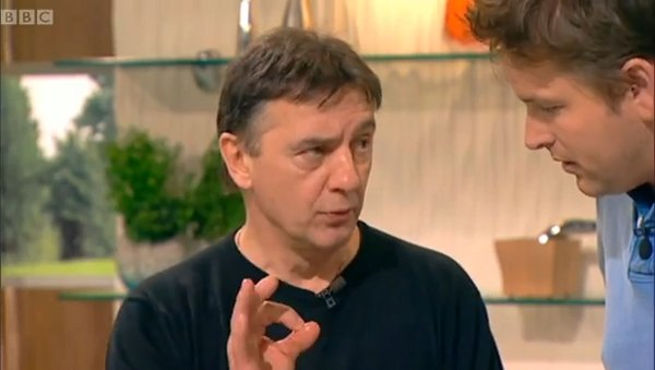 Raymond Blanc doesn't believe in rushing omelettes either