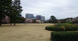 Much less busy East Gardens of the Imperial Palace