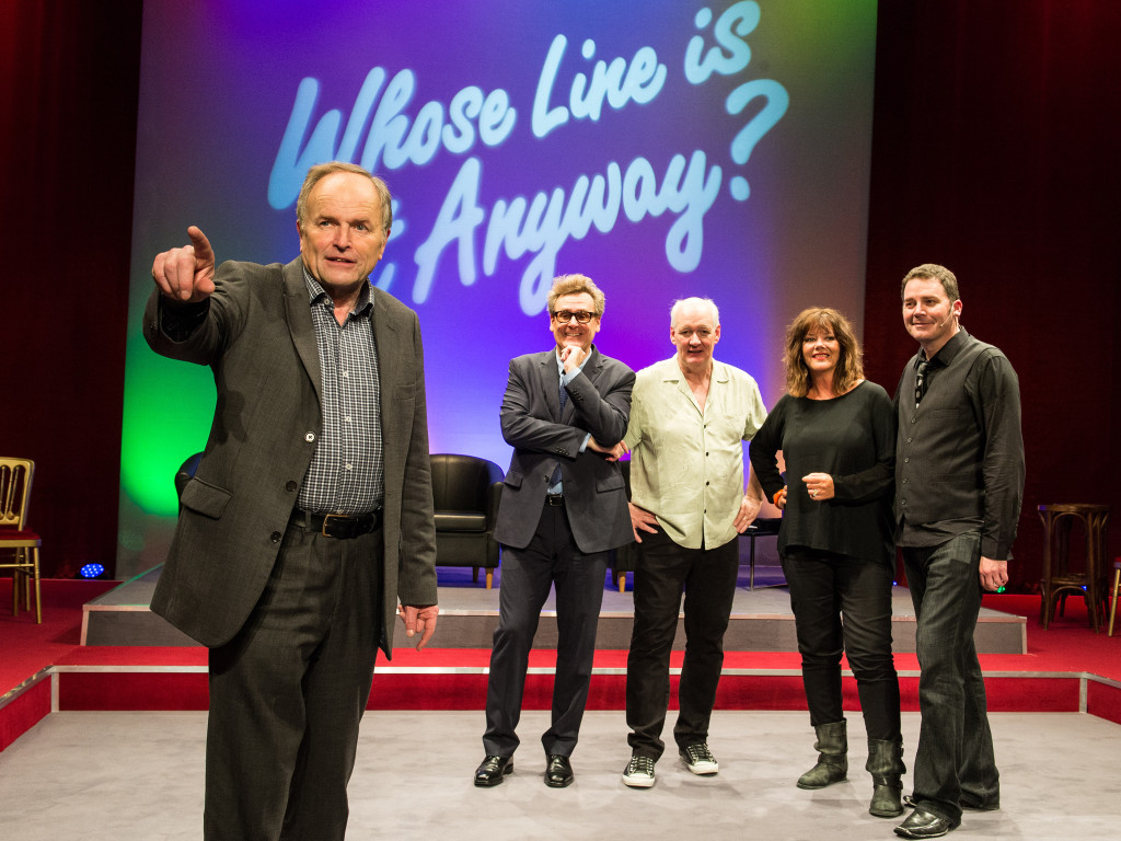 Improvisation became popular around the world with the success of Whose Line Is It Anyway?